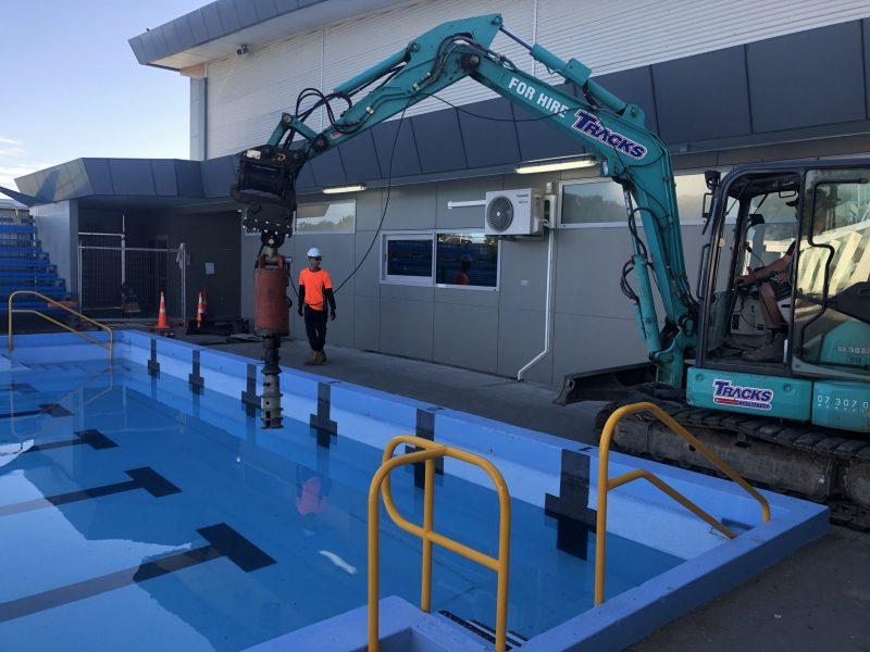 Whakatane Aquatic Centre – Bridging Services Blade Pile New Zealand