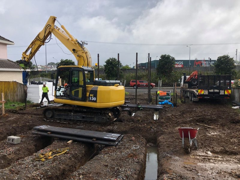 Auckland New Build - Flood Zone Blade Pile New Zealand