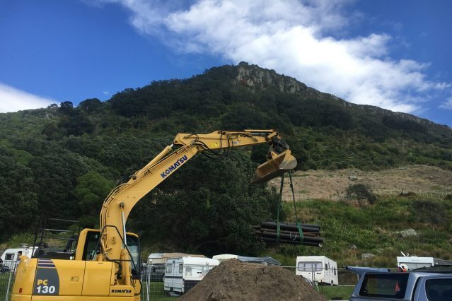 Piling into Contaminated & Archaeological Sites Blade Pile New Zealand