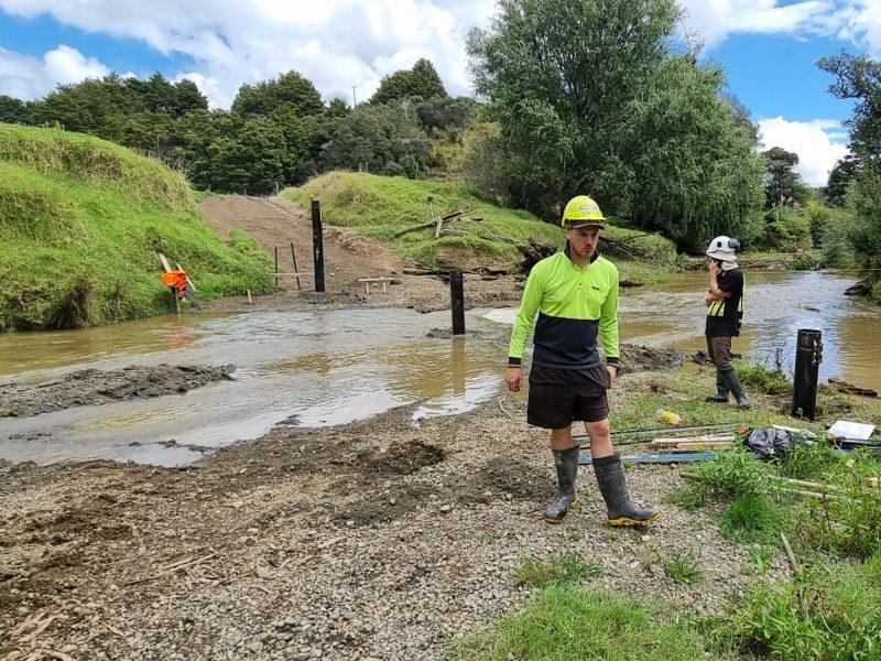 Northland Bridge - Compression & Uplift Blade Pile New Zealand