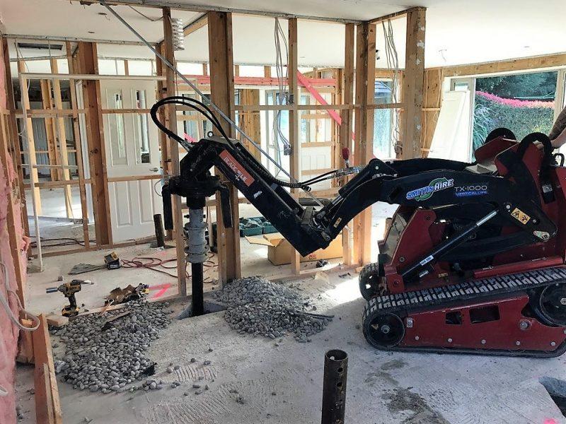 Christchurch - Earthquake Damage Blade Pile New Zealand